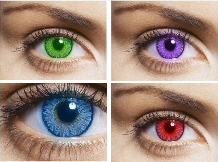 Kanta lekap warna (kosmetik) pada mata
