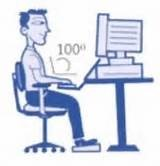 Penggunaan Komputer Boleh Merosakkan Mata