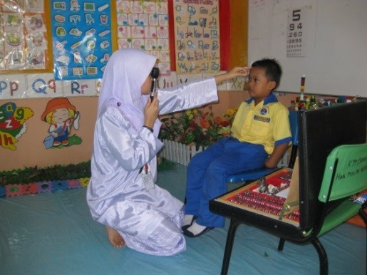 'Pre-school Eye Screening' program were performed to detect refractive errors in early stage2