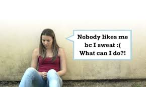 What can you do to reduce sweating and body odor