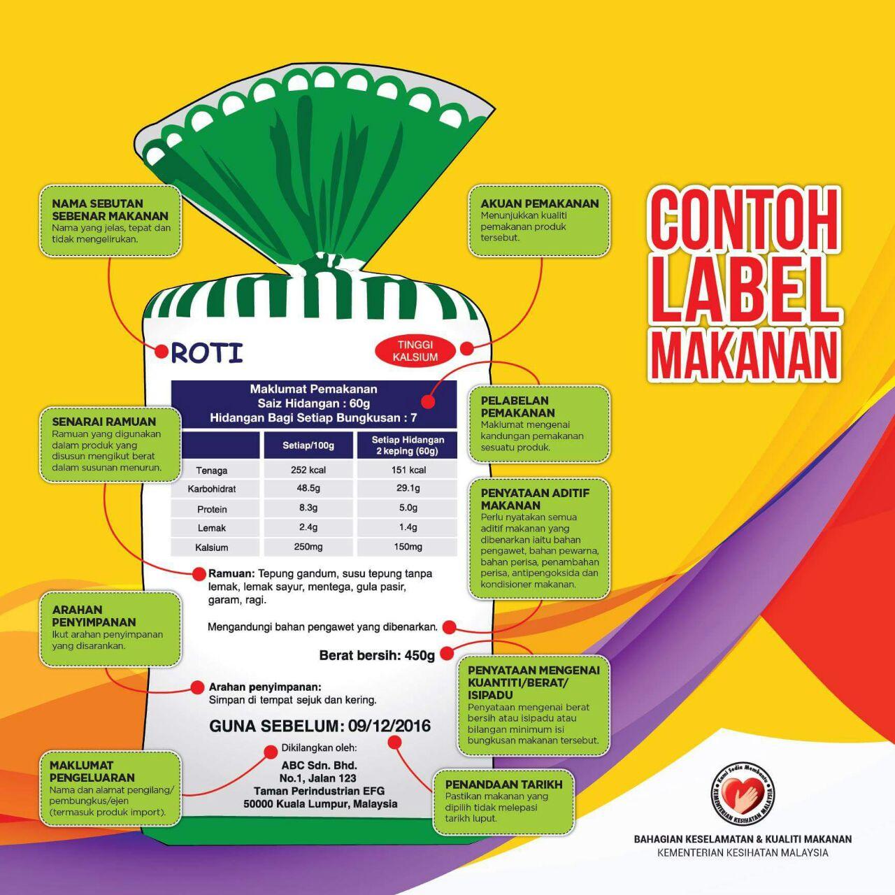 label-makanan