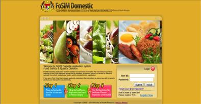 Pendaftaran Premis Makanan Portal Myhealth