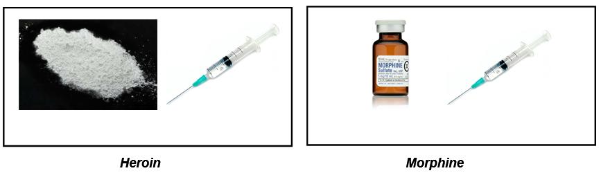 heroin morphine