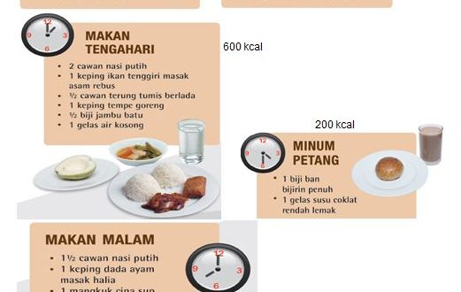 Ketahui Keperluan Kalori Anda Portal Myhealth