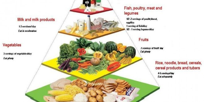 Malaysian Food Pyramid - PORTAL MyHEALTH