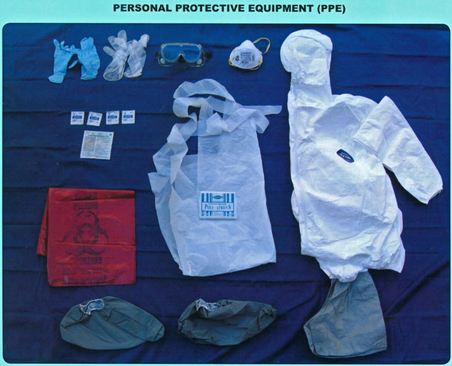 Personal Protective Equipment Portal Myhealth