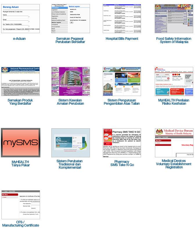 Online Services - PORTAL MyHEALTH